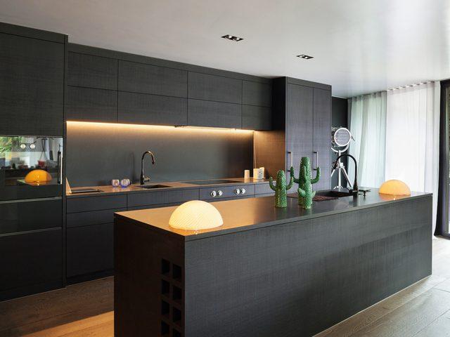 Bilde av moderne kjøkken - Byggfirma Morten Asbjørnsen AS